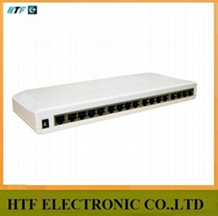 16p 10/100M 19-inch rack-mountable steel case unmanaged fast Network switch