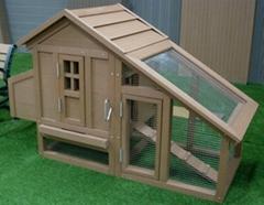 WPC chicken coop