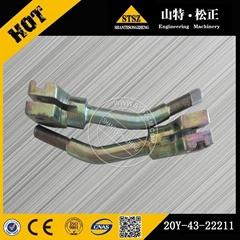 小松挖掘机原厂左操纵杆20Y4322211