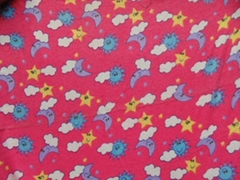 C32*C12/40*43 brushed cotton flannel fabric for baby