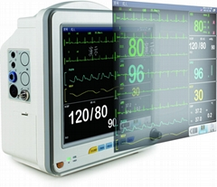 12 Inch Multi-parameter Patient Monitor with CE Certificate BMO200V