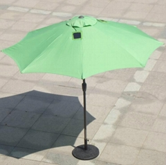 Advertisment beach umbrella