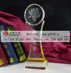 supply Shenzhen crystal trophies