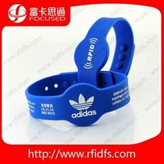 silicone PVC Nylon plastic waterproof wristband