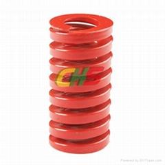 ISO10243標準出口重載荷用紅色扁線彈簧CIH