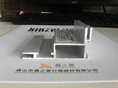 4080卡膠條拉布鋁型材