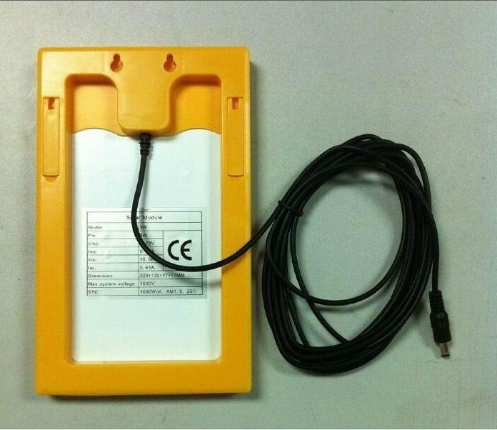 3W便携式太阳能发电系统 2