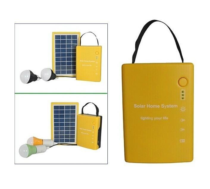 3W便携式太阳能发电系统 1