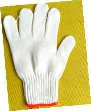 white cotton glove,work glove,safety glove