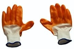 latex coated safety working gloves