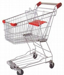 supermarket Asia style shopping trolley