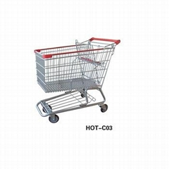 supermarket America style shopping trolley/cart