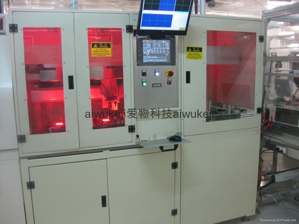 视觉定位LCD涂胶机 1