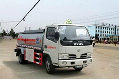 DongFeng XBW Water Truck(fortified) stainless steel water bowser truck