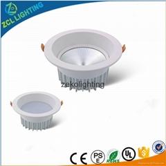 High Quality Dimmable LED Ceiling Lights COB LED Spotlight LED Down Lights