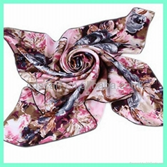 Digital Print Silk Scarf Hot Sale