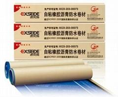 Self-adhered Bitumen Membrane