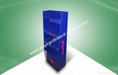 Red Bull display stand Cardboard Display Floor Displays for Beverage