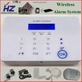 SMS remote control gsm wireless smart home burglar panic security alarm system 3