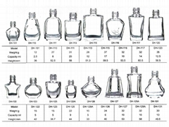 nail polish glass bottle catalog page 1-5