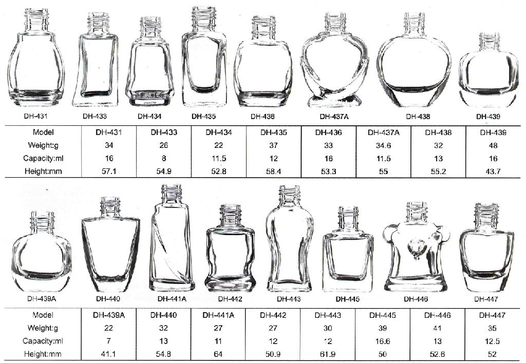 nail polish glass bottle catalogue page 17-21 1