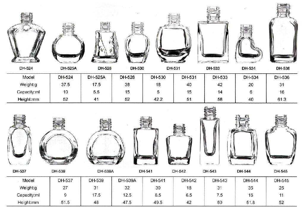 nail polish glass bottle catalogue page 17-21 3