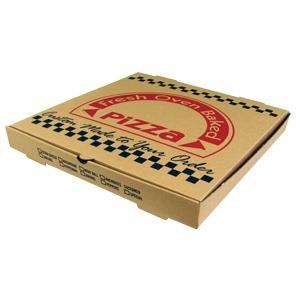 custom logo printed corrugated pizza box 1