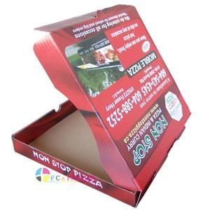 custom logo printed corrugated pizza box 2