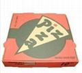 E flute pizza box