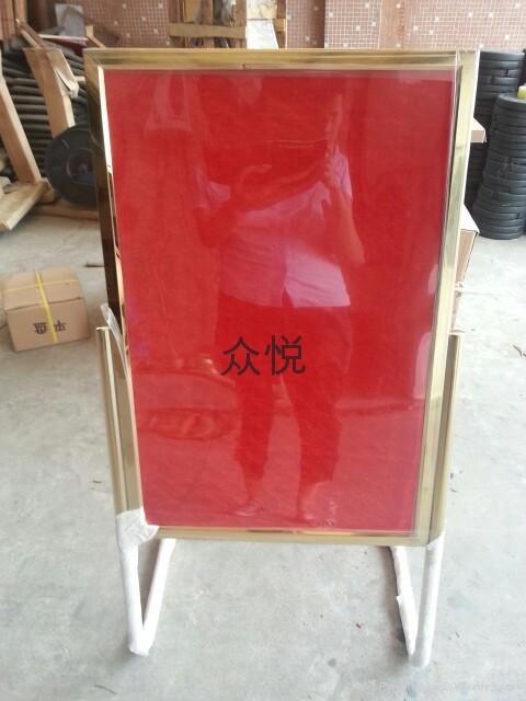 上海不锈钢L型指示牌 1