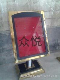 上海不锈钢L型指示牌 4