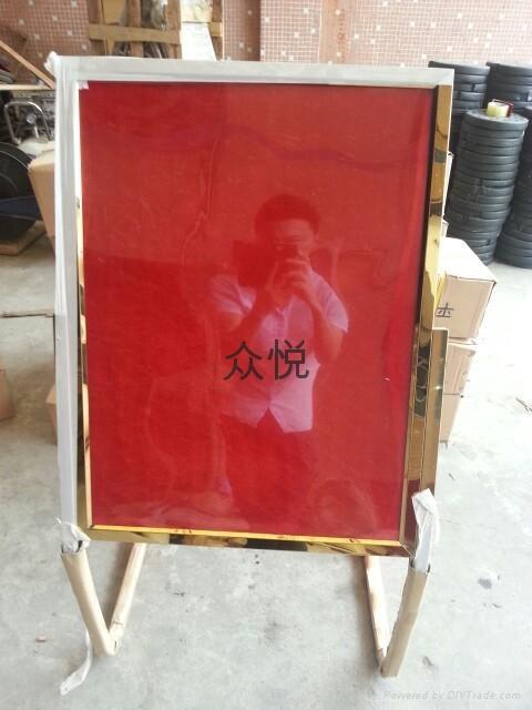 深圳不锈钢礼宾牌 1