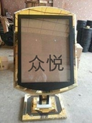 太原不锈钢大富豪指示牌