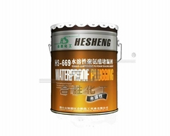 HS-669 Water Based Water Soluble Polyurethane PU Caulking Liquid