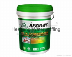 HS-16  K11 Two Component General Polymer Modified Compound Waterproofing Coating