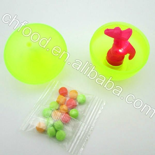 Hot Sell And Popular Light Up Egg Toy Candy 2
