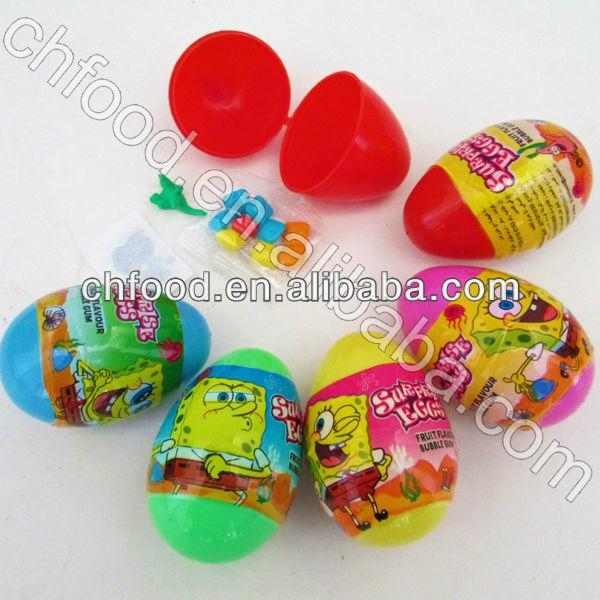Candy Toy China---Surprise Egg Toy Candy With Tattoo  1