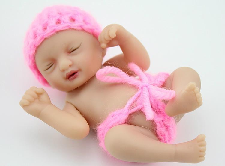 Small Toy Dolls : Newest design vinyl inch baby dolls palm hand doll toy