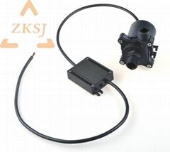 24V低压安全无刷直流家用热水器