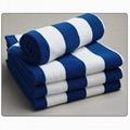 纯棉条纹沙滩巾促销