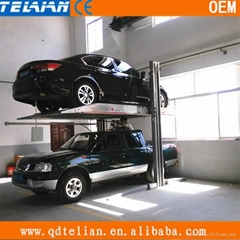 simple two post car parking lift