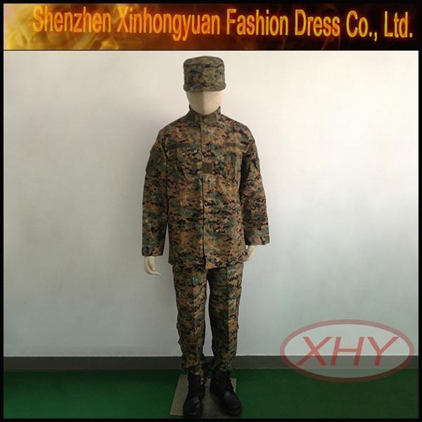 ACU 2 T/C Light Digital Camouflage Army Fashion Military Uniform  5