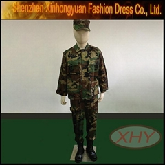 Digital camo BDU ACU Military uniform Durable material high color fastness good
