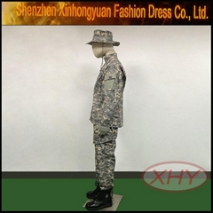 acu camouflage military warm army uniform