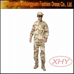 acu terylene silk tri-colored cldesert military uniform othings acu in camo