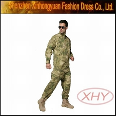 acu2 terylene/cotton city custom camouflage military uniforms