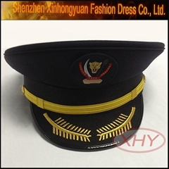 Custom military officer cap officers and officer hat