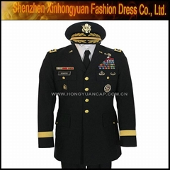 American air force military uniform and coat