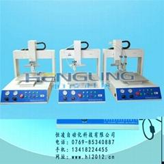 深圳三軸自動點膠機