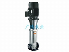 轻型不锈钢立式多级离心泵